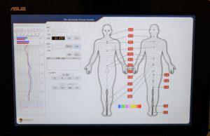 千葉県で自律神経失調症の中学生が通院する整体での自律神経機能検査