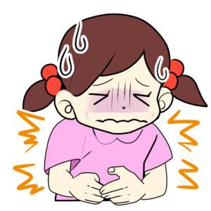 原因不明の子供の腹痛