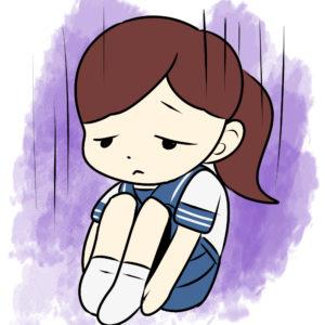 鬱の中学生